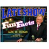 Late Show with David Letterman Fun Facts Book (Hardcover)