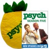 Psych Season 5 DVD + Psych Pineapple Pillow