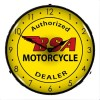 BSA Lighted Motorcycle Clock