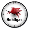 Mobil Lighted Retro Clock