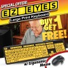 EZ Eyes Large Print Keyboard - Buy One Get One Free!