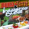 Inflatable Buffet and Dura Tent Food Screen Combo