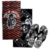 Sons of Anarchy Flip Flop and Towel Set